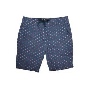 Brooklyn Cloth Twill Men's Jogger Shorts Navy Red